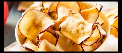 Chips de manzanas