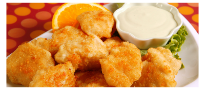 Nuggets de pollo light