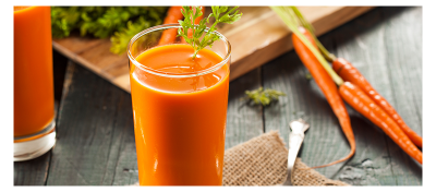 Jugo de zanahoria y jengibre